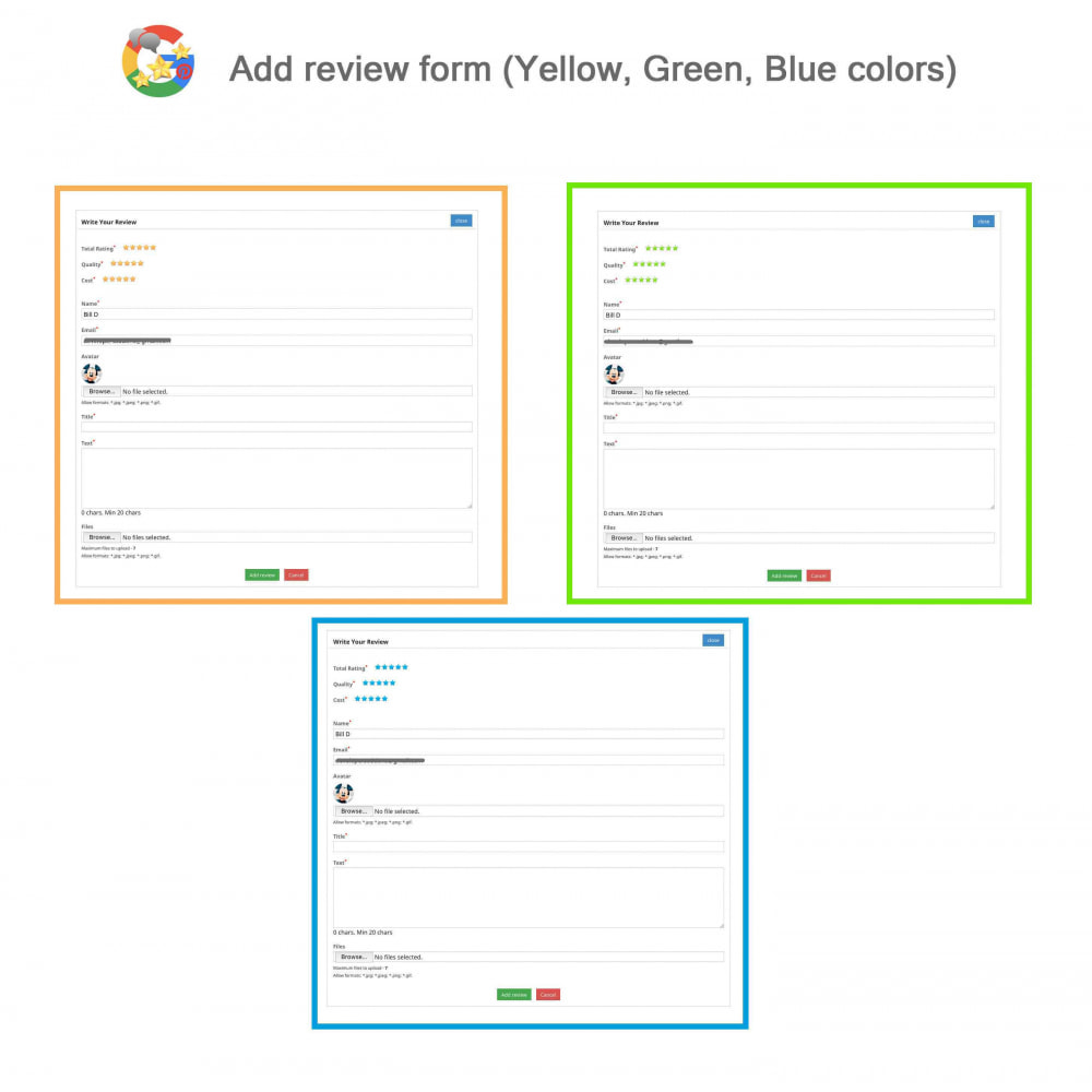module - Opinie klientów - Product, Shop Reviews, Loyalty Program, Google Snippets - 8