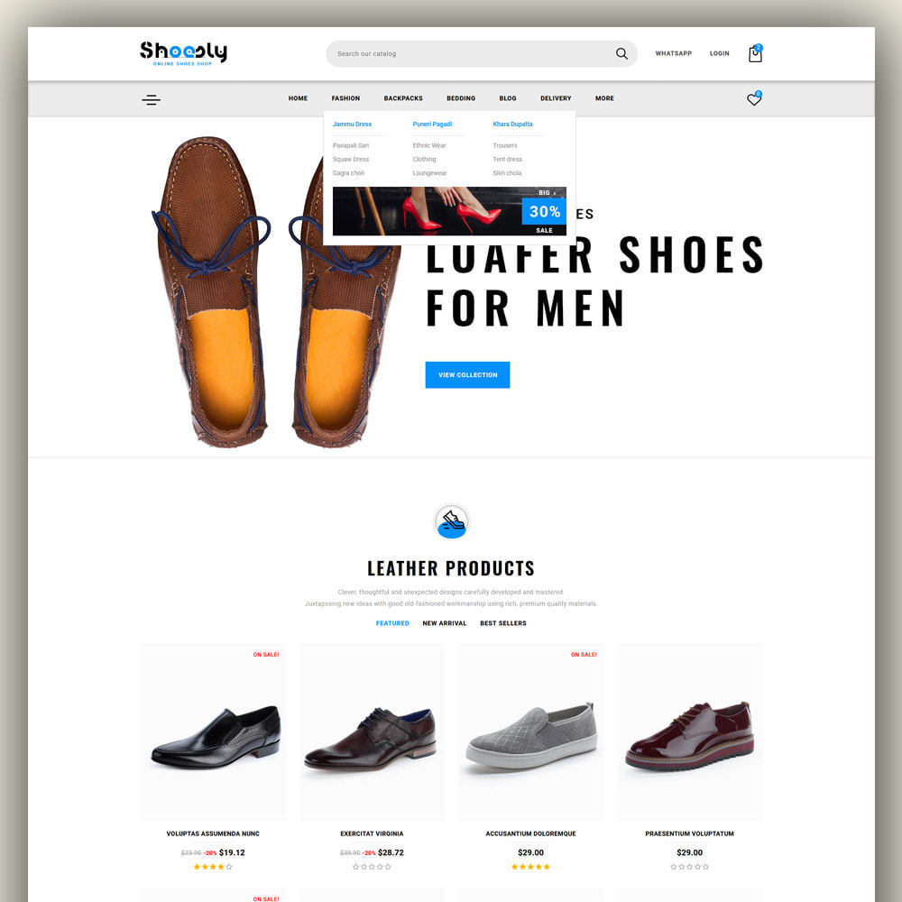 theme - Fashion & Shoes - Shoosly - Shoes Store - 2