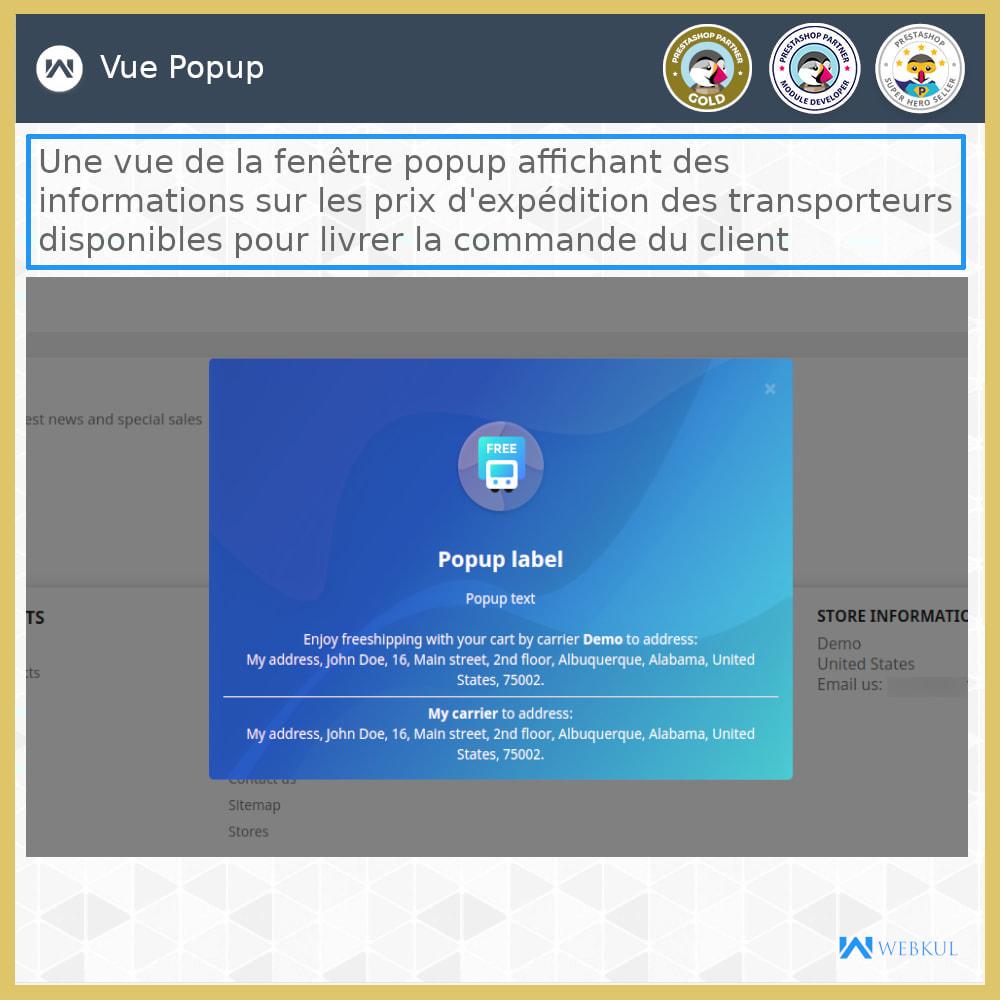 module - Transporteurs - Tarifs d'expédition - 3