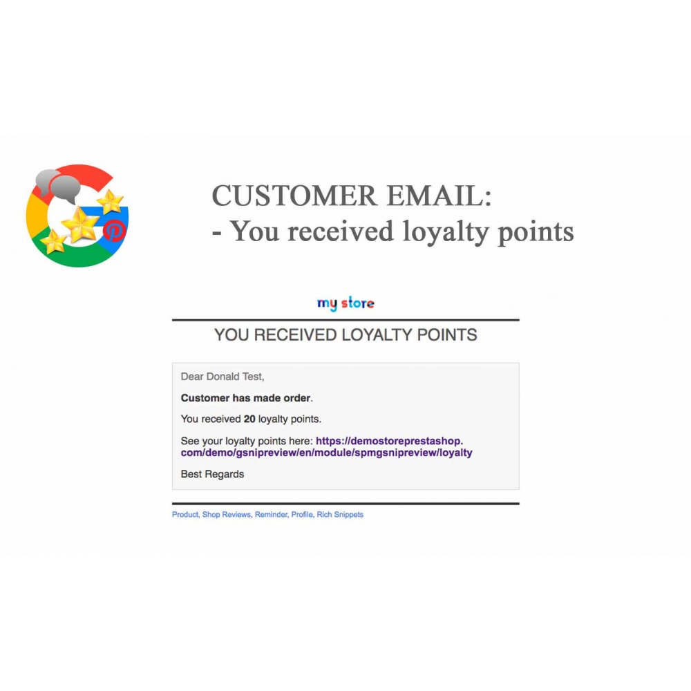 module - Opinie klientów - Product, Shop Reviews, Loyalty Program, Google Snippets - 72