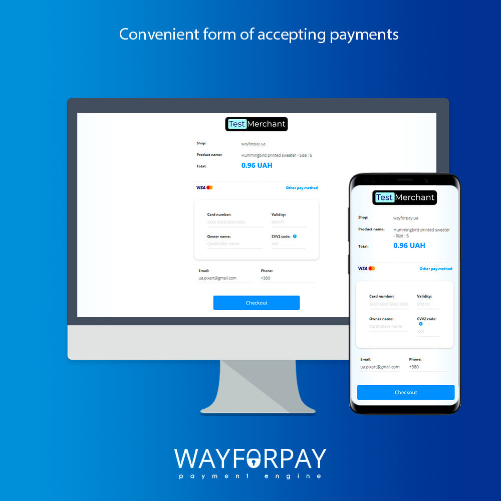 module - Payment by Card or Wallet - WayForPay Payment - 2