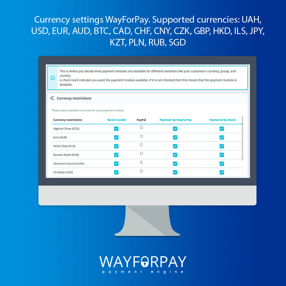 module - Payment by Card or Wallet - WayForPay Payment - 5