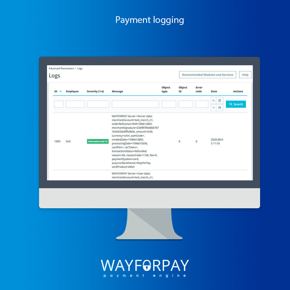 module - Payment by Card or Wallet - WayForPay Payment - 6