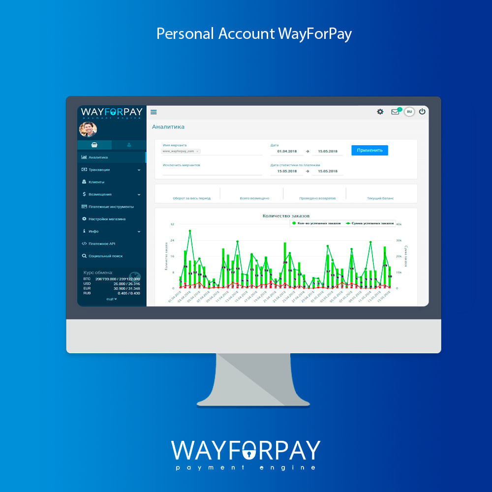 module - Payment by Card or Wallet - WayForPay Payment - 7