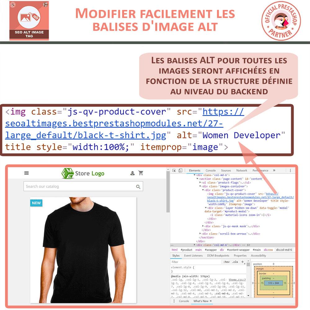 module - SEO (référencement naturel) - SEO Alt Image Tags - 2