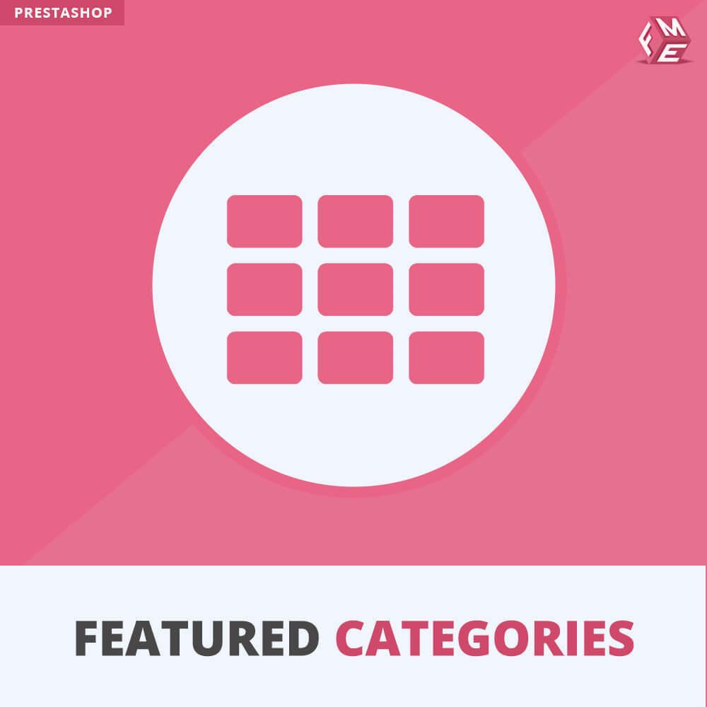 module - Personnalisation de Page - Catégories Vedettes - 1