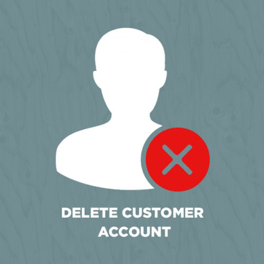 module - Gestion des clients - Delete Customer Account - 1