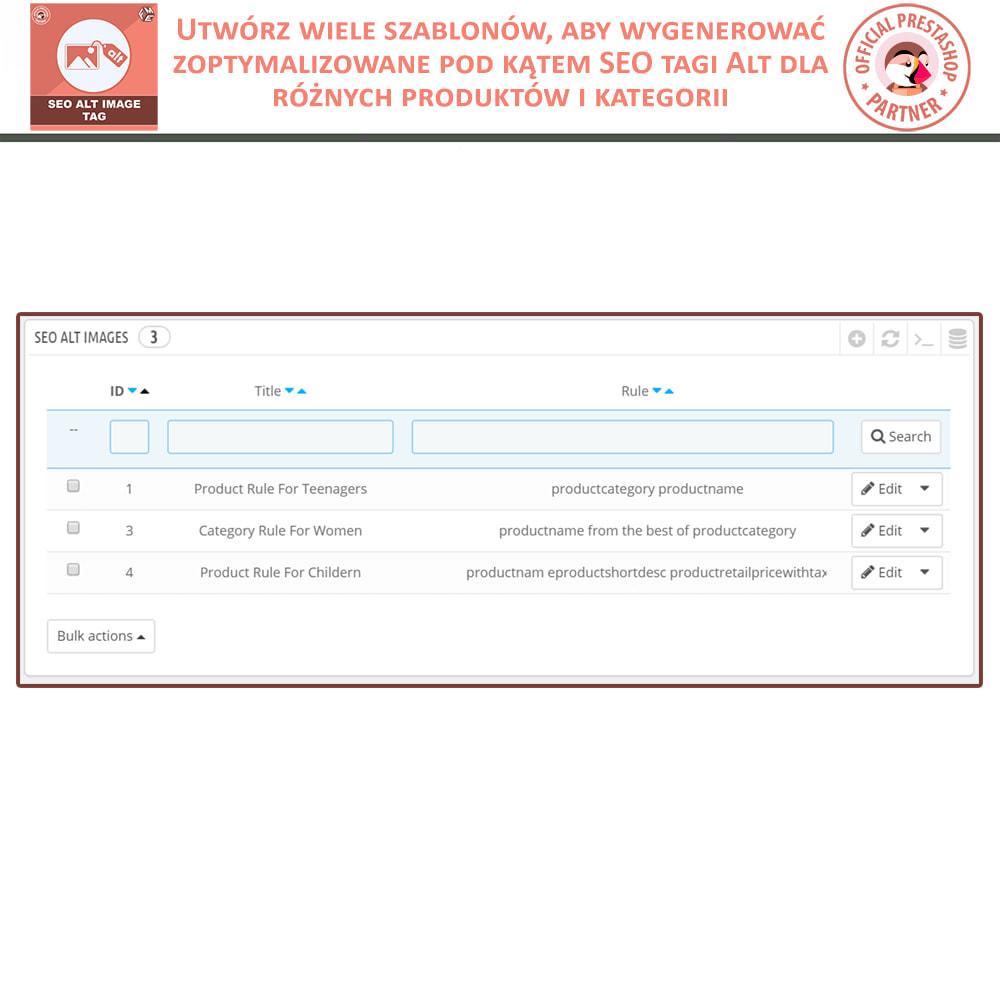 module - SEO (Pozycjonowanie naturalne) - SEO Alt Image Tags - 4