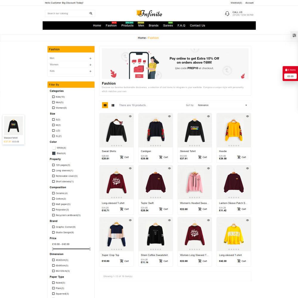 theme - Fashion & Shoes - Infinite Fashion Store - 3