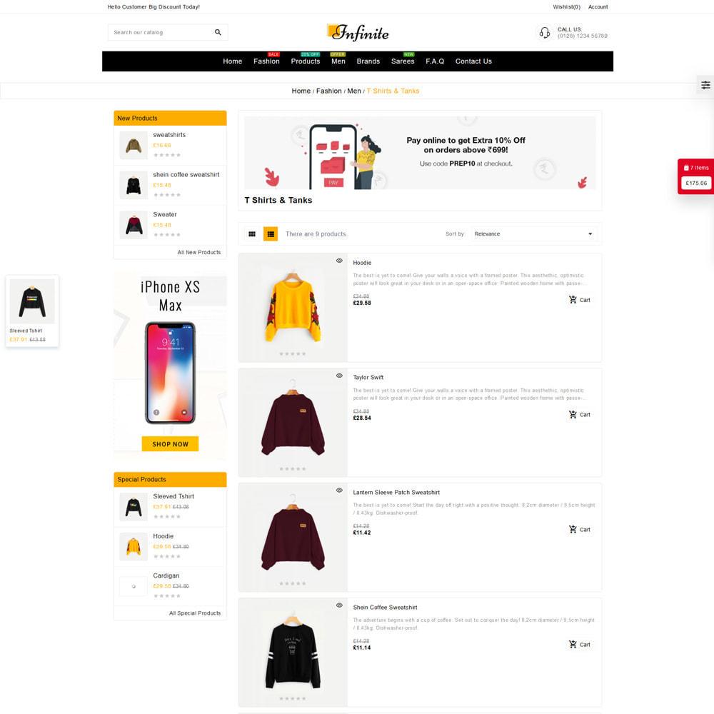 theme - Fashion & Shoes - Infinite Fashion Store - 4