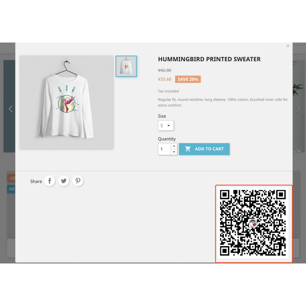module - Mobile - QR code scan generator that supports product attributes - 4