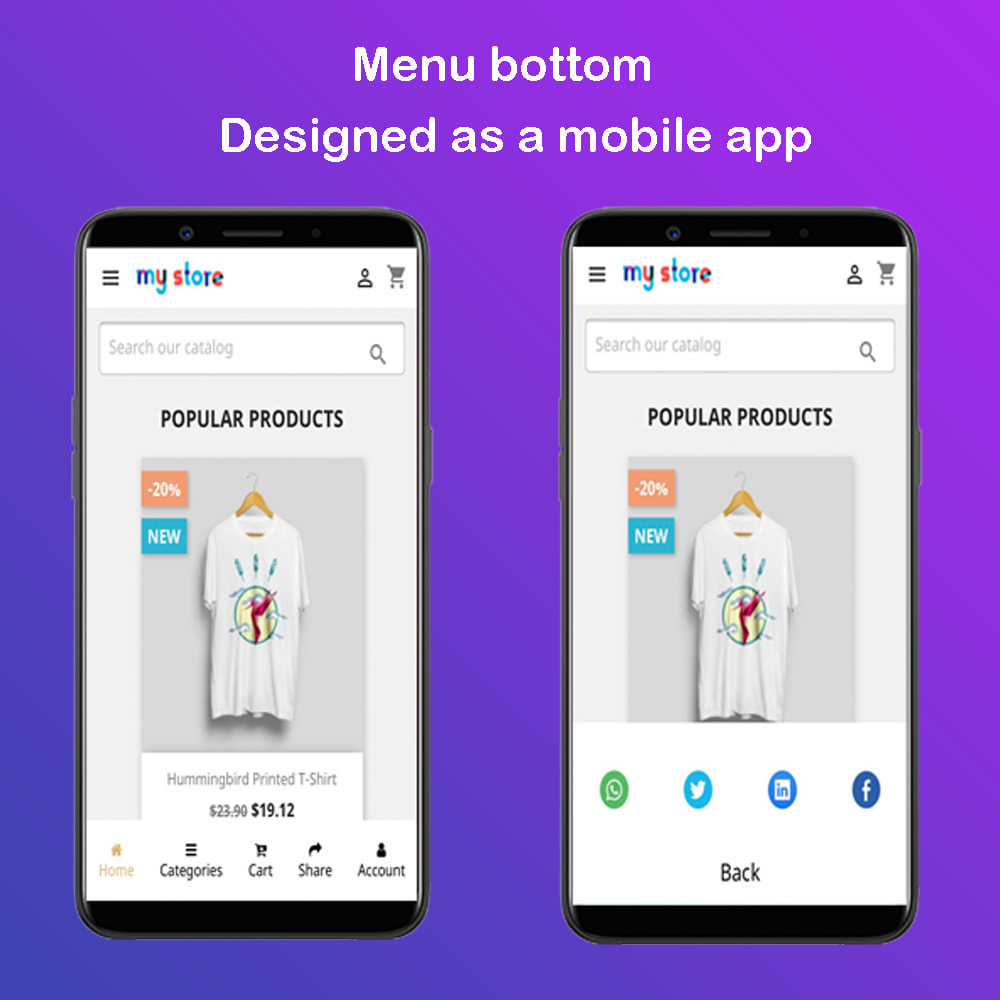 module - Menü - Menu Mobile App Pro - 1