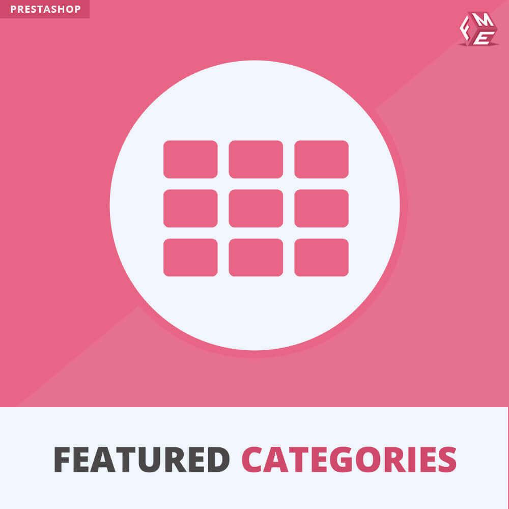 module - Personalizzazione pagine - Categorie in Primo Piano - 1
