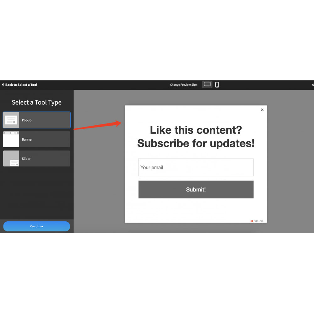 module - Social Widgets - Simple social media AddThis - 7