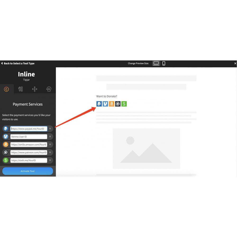 module - Widgets sozialer Netzwerke - Advanced Social Media Share Side Bar Links Buttons - 9