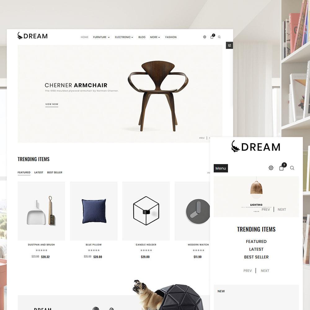theme - Home & Garden - Dream Home Decor Furniture Shop - 1