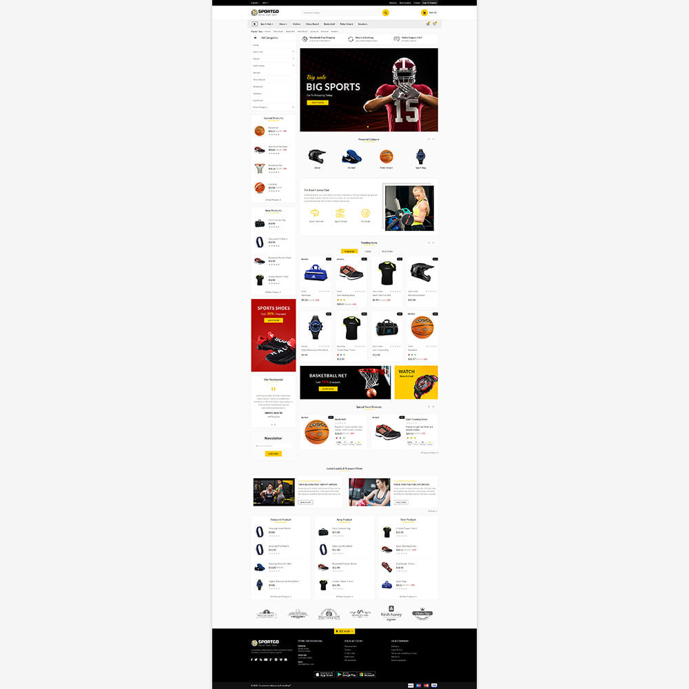 theme - Sport, Loisirs & Voyage - Sports Accessories Shop - 2
