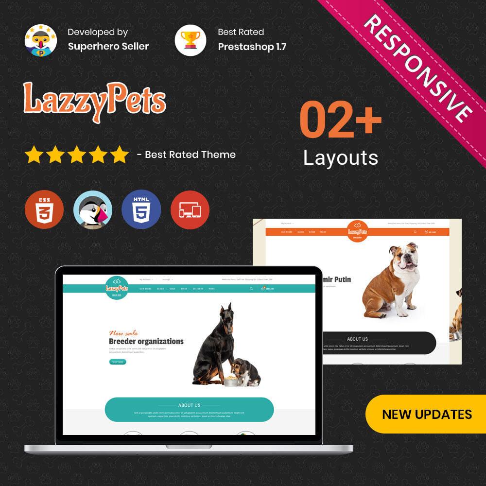 theme - Animaux - lazzypets - La boutique des animaux - 1