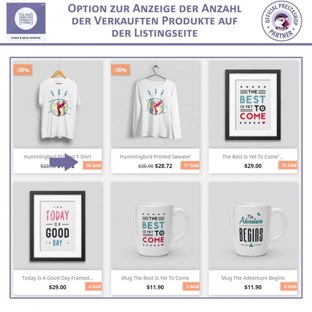module - Bestands & Lieferantenmanagement - Lager und Verkauft Zähler - 2