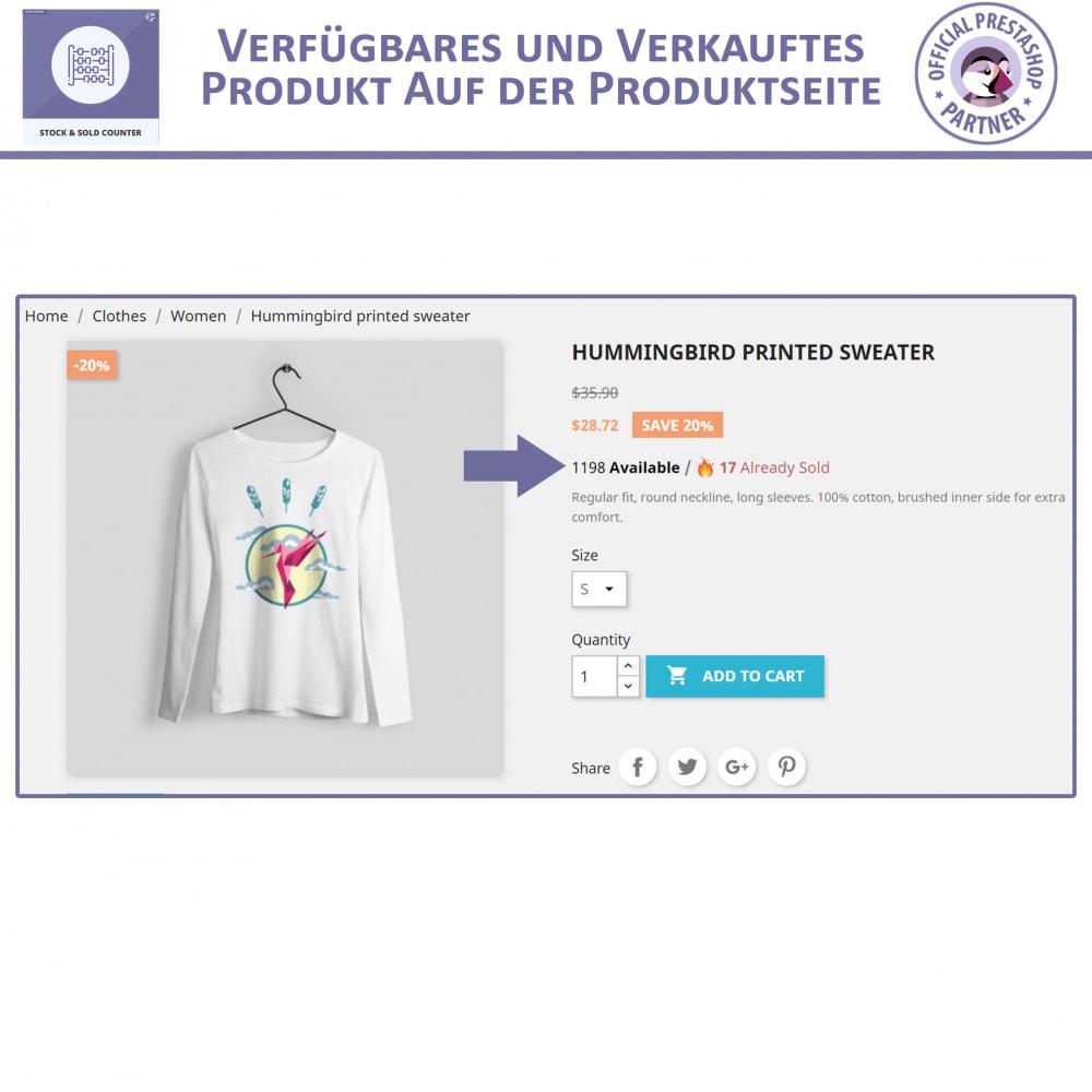 module - Bestands & Lieferantenmanagement - Lager und Verkauft Zähler - 3