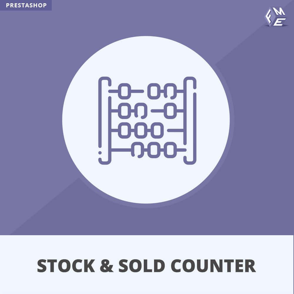 module - Stock & Leveranciersbeheer - Voorraad en Verkochte Teller - 1