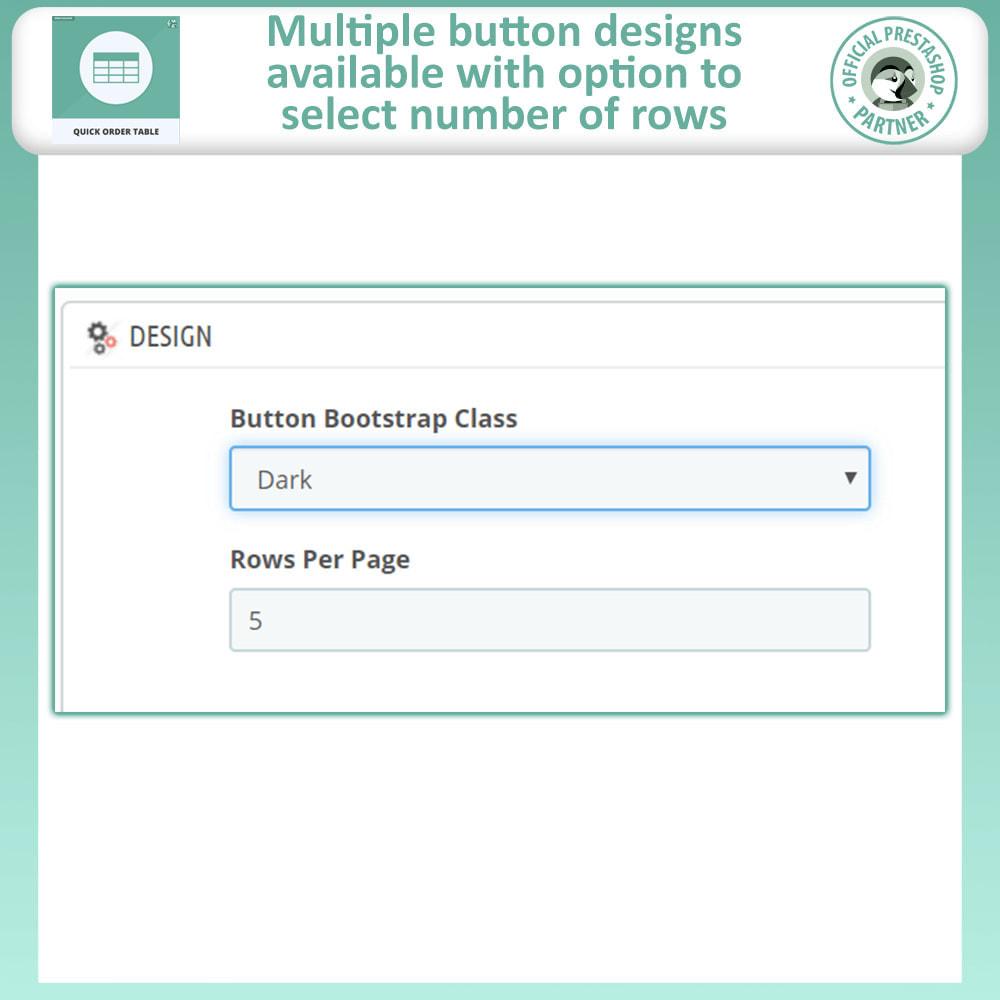 module - Order Management - Quick Order Form | Order Table - 10