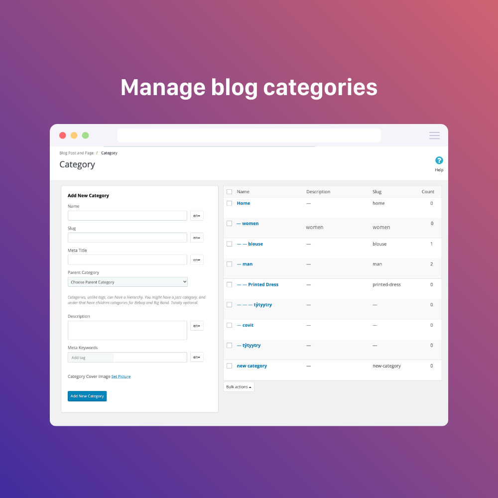 module - Blog, Forum & Actualités - Blog professional - Wordpress UI - 5