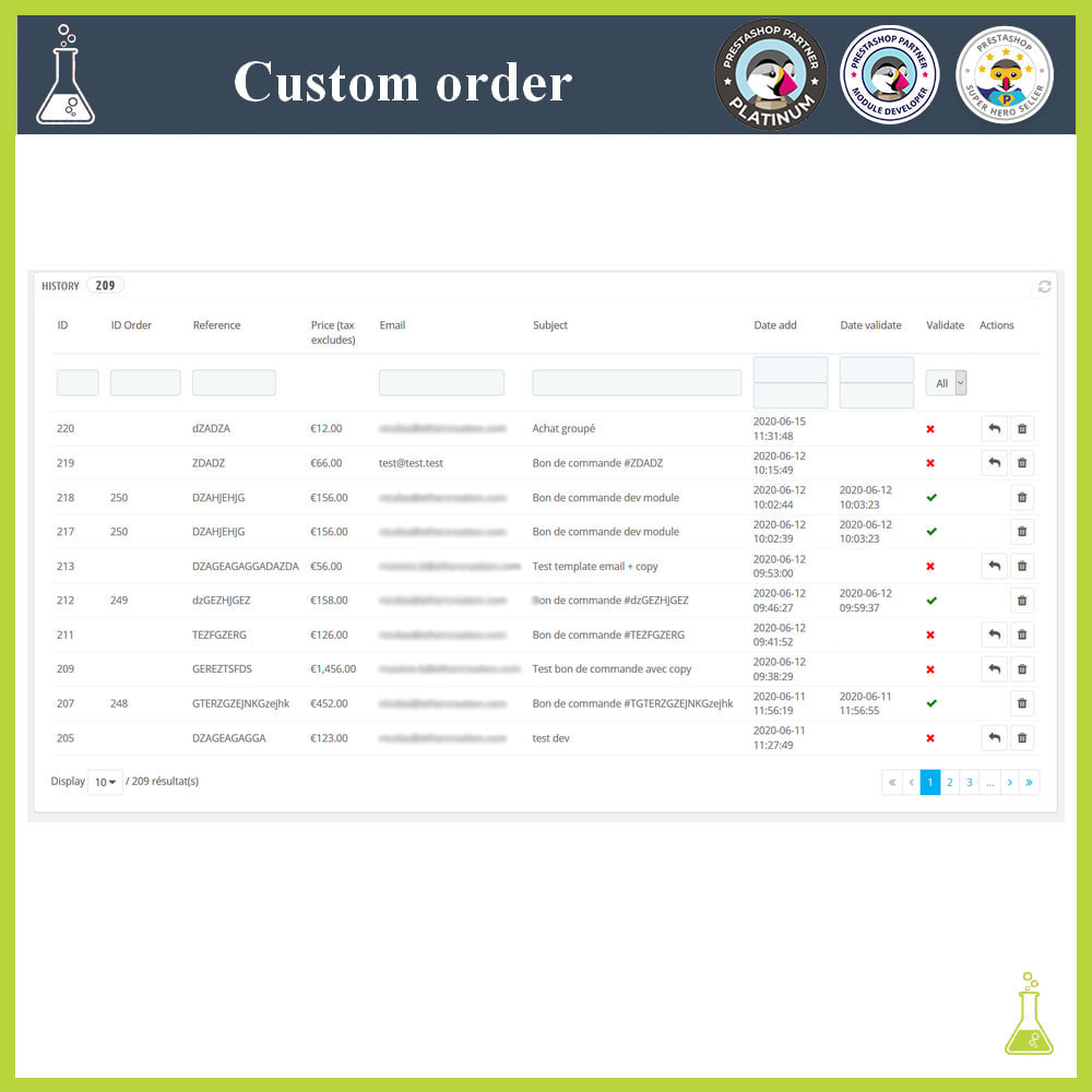module - Order Management - Custom order - 6