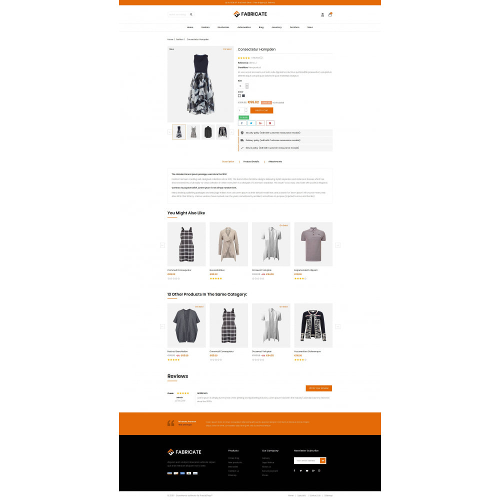 theme - Fashion & Shoes - Fabricate - Apparel Store - 5