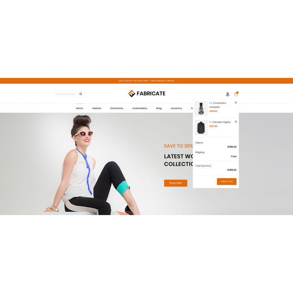 theme - Fashion & Shoes - Fabricate - Apparel Store - 8