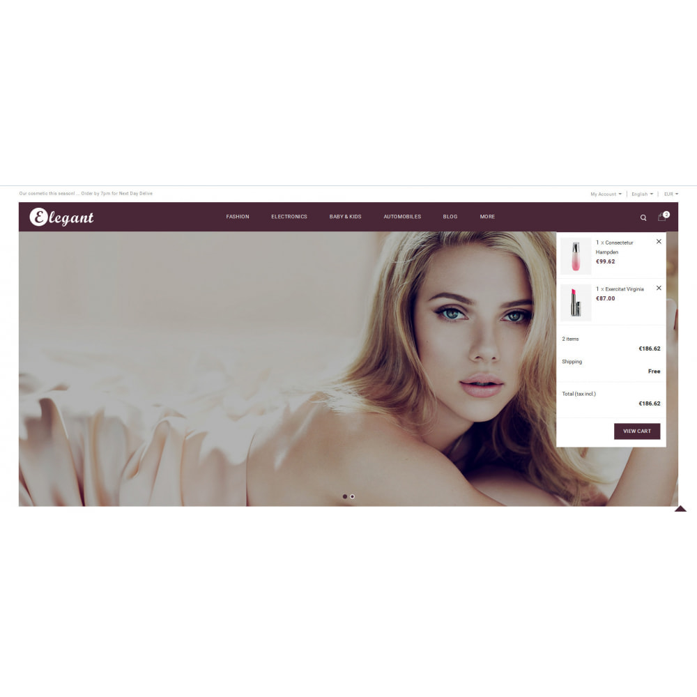 theme - Health & Beauty - Elegant - Cosmetic Store - 8