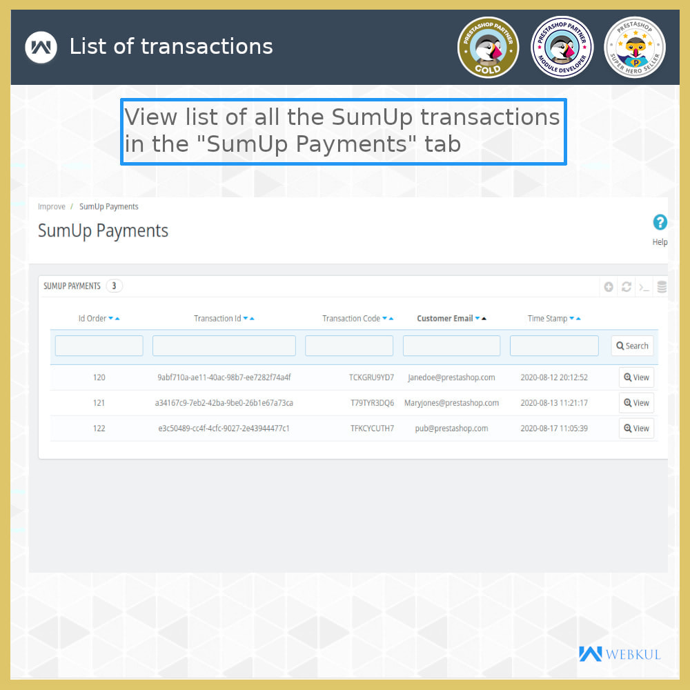 module - Payment by Card or Wallet - SumUp Payment Gateway - 10