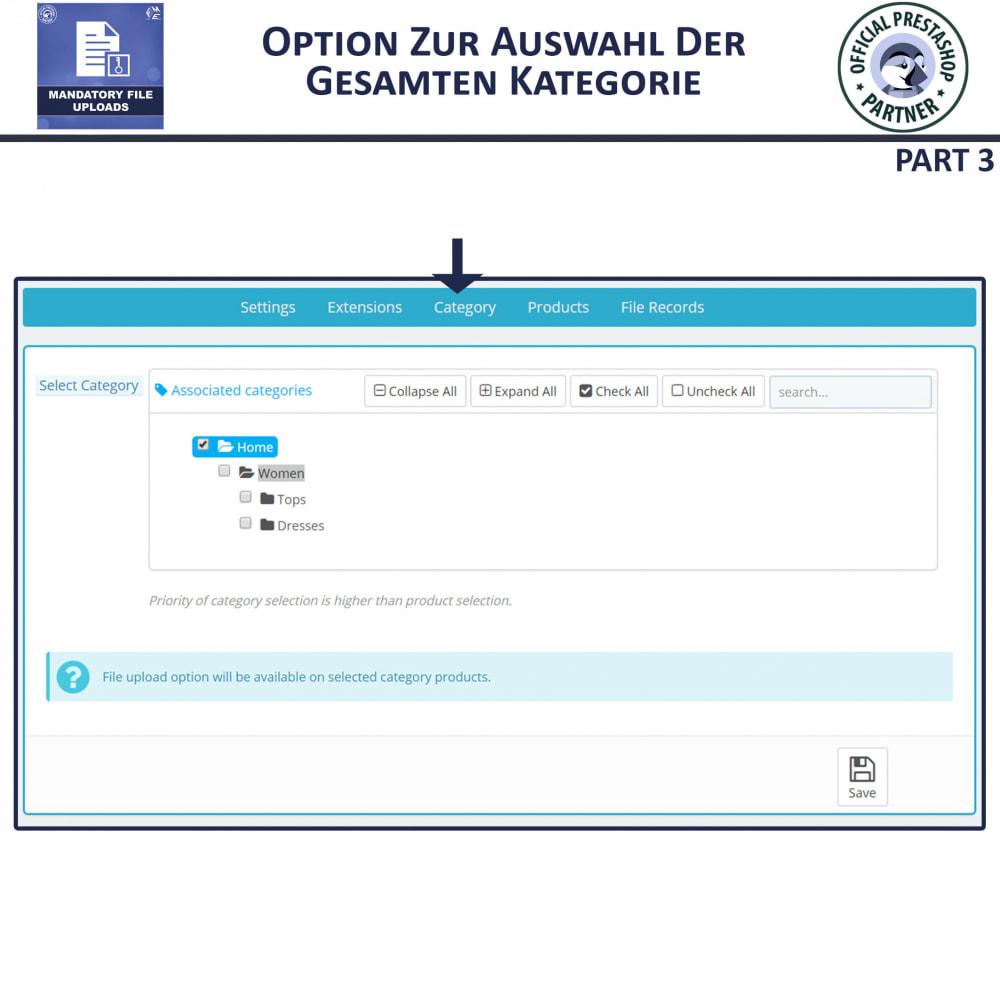 module - Zusatzinformationen & Produkt-Tabs - Obligatorisches Hochladen Von Dateien - 7