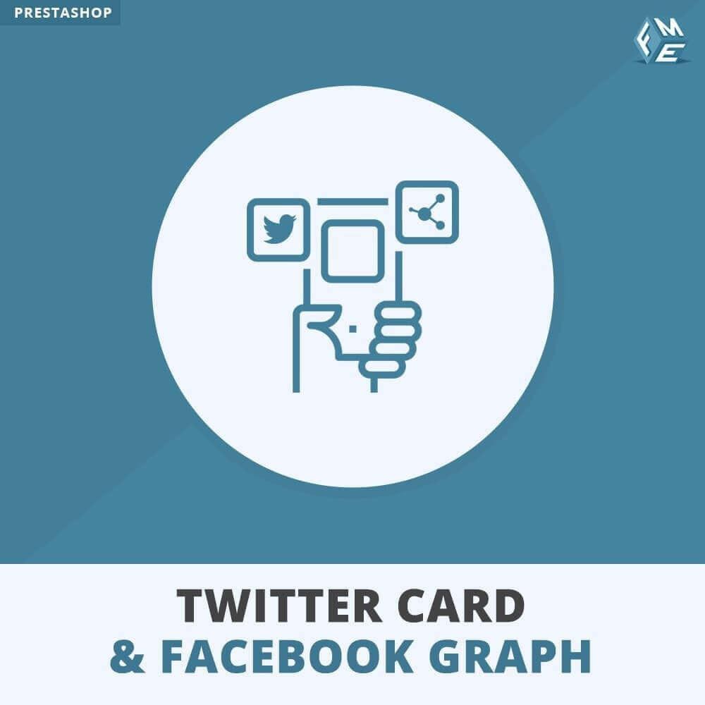 module - Widgets réseaux sociaux - Carte Twitter et Graphique des Médias Sociaux - 1