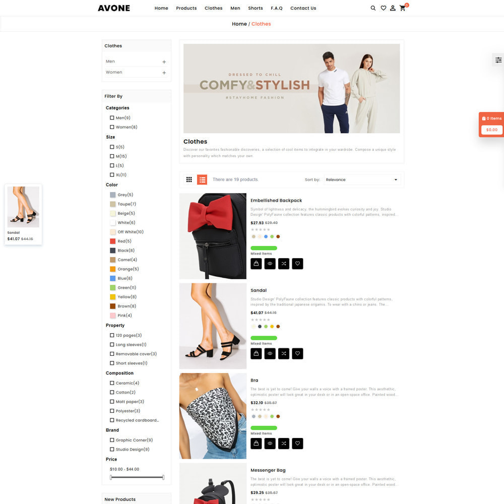 theme - Fashion & Shoes - Avone Fashion Store - 5