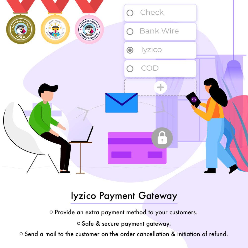 module - Paiement par Carte ou Wallet - Passerelle de paiement Iyzico - 1