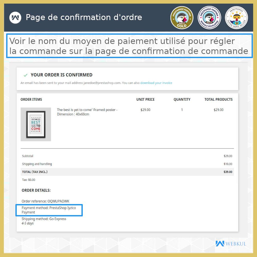 module - Paiement par Carte ou Wallet - Passerelle de paiement Iyzico - 5