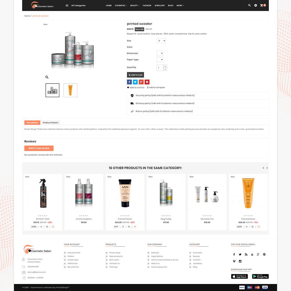 theme - Salute & Bellezza - Cosmétique – Fash Cosmetic Store - 4