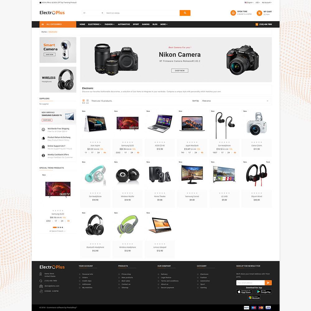 theme - Elektronik & High Tech - Mega Mall Electro Plus – Electronices Shop - 3
