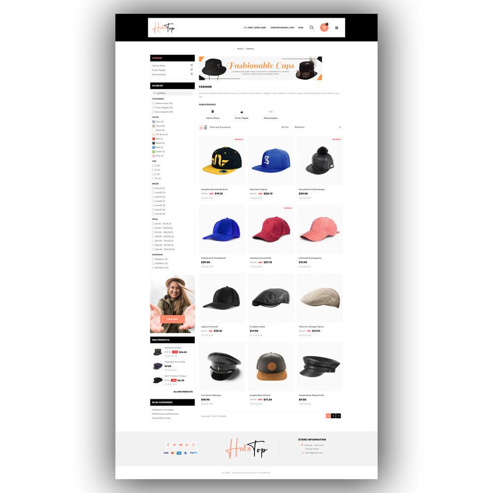 theme - Mode & Chaussures - Hatstop - Cap Store - 4