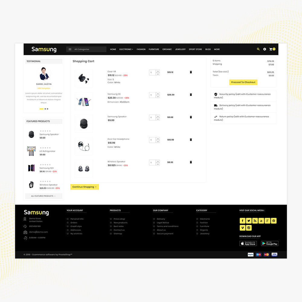 theme - Elektronika & High Tech - Electro– Electronic Boost Smart Shop - 5