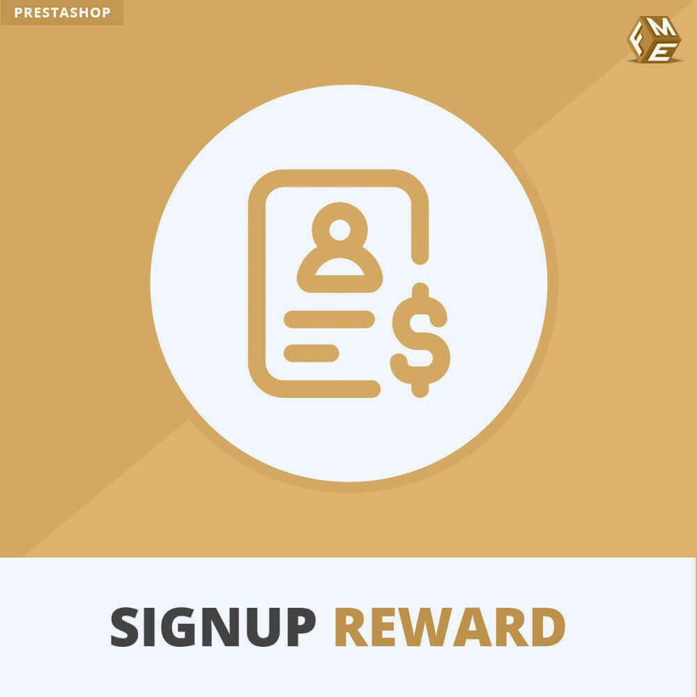 module - Акции и Подарки - Вознаграждение за регистрацию - Предлагайте скидки - 1
