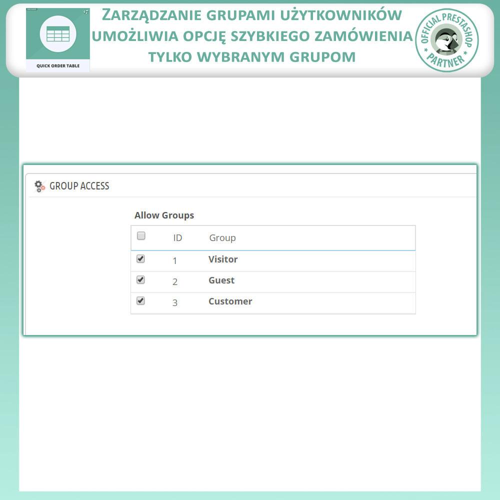 module - Zarządzanie zamówieniami - Tabela Szybkich Zamówień - 9