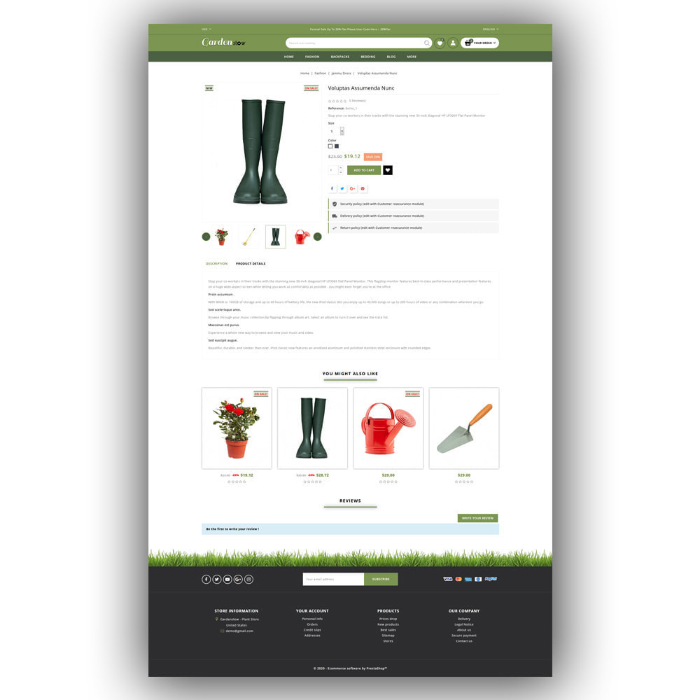 theme - Home & Garden - Gardenstow - Plant Store - 6