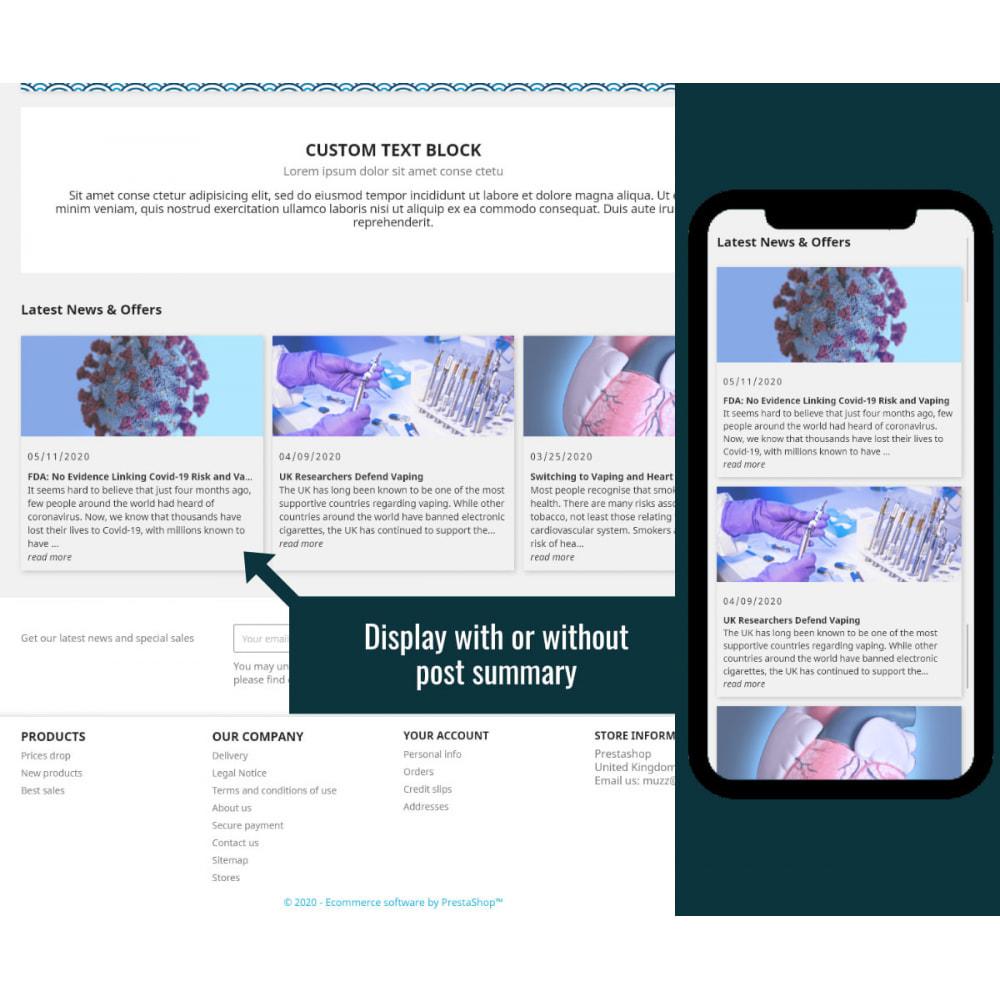 module - Blog, Forum & Nieuws - Wordpress Blog Posts - 2