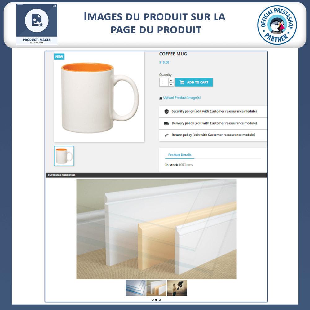 module - Visuels des produits - Les Images de produits par les clients - 2