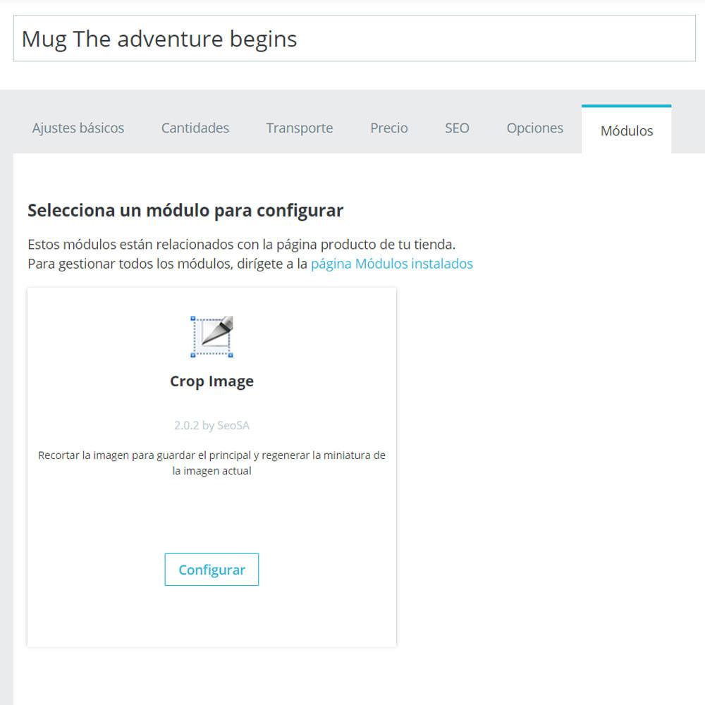 module - Fotos de productos - Cambiar el tamaño de fotos (Crop) - 3