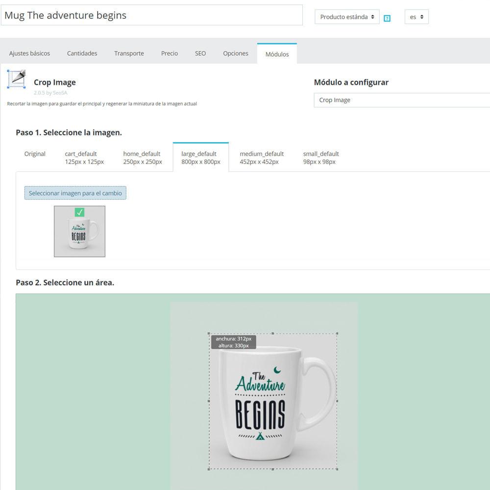 module - Fotos de productos - Cambiar el tamaño de fotos (Crop) - 6