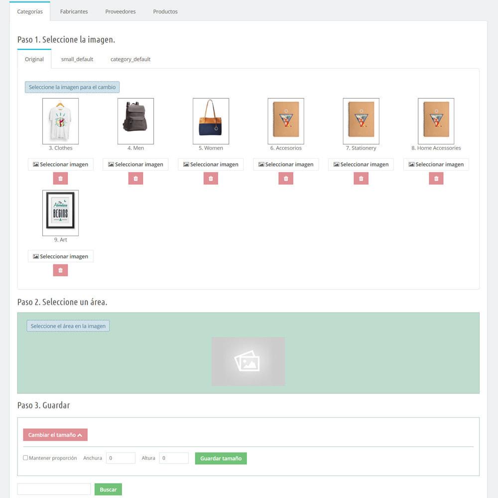 module - Fotos de productos - Cambiar el tamaño de fotos (Crop) - 9