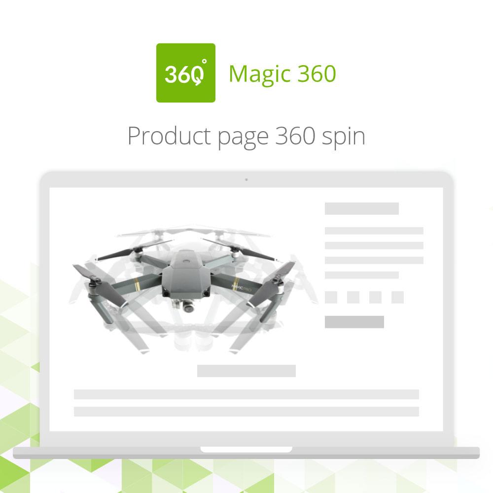 module - Visuels des produits - Magic 360 spin - 2